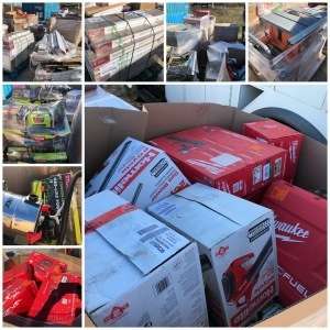 Home Depot Load - Overstock and Return - One Lot Auction