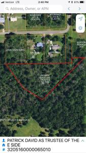 Land Selling For The Patrick Estate, 2 Acre Tract Jackson County, AL