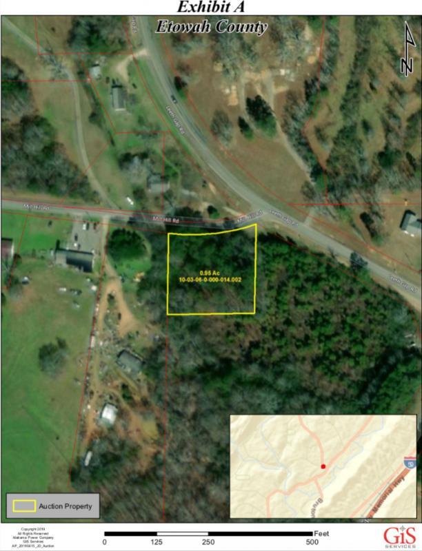 Attalla, Etowah County Alabama vacant lot
