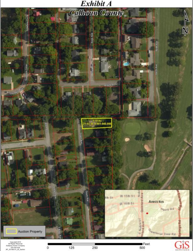 Anniston, Calhoun County Alabama Vacant Lot on