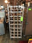 Rolling Advance Tabco Can Dispenser Rack