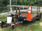 2012 Better Built 7 ton equipment trailer