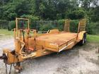 Econoline tandem axle equipment trailer