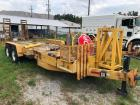 Caliber Trailer Mfg 7 ton Equipment Trailer
