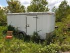 Hercules by Homesteader 10' x 16' +/- Cargo trailer with contents - stainless restaurant equipment & chairs