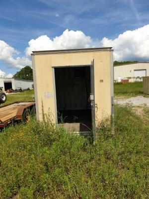 "Generator Building/Trailer Only - No generator - 7'8"" x 14'9"" approximate size"