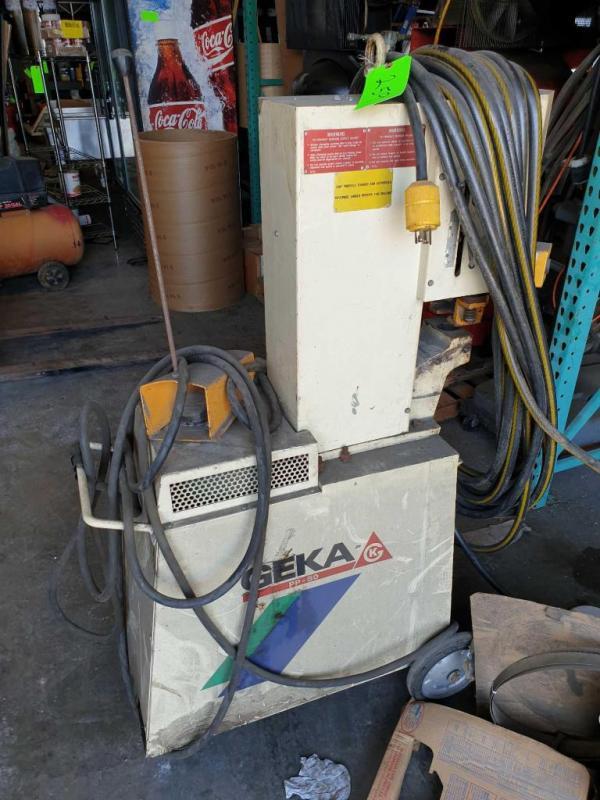 Geka PP-50 Hydraulic Hose Repair
