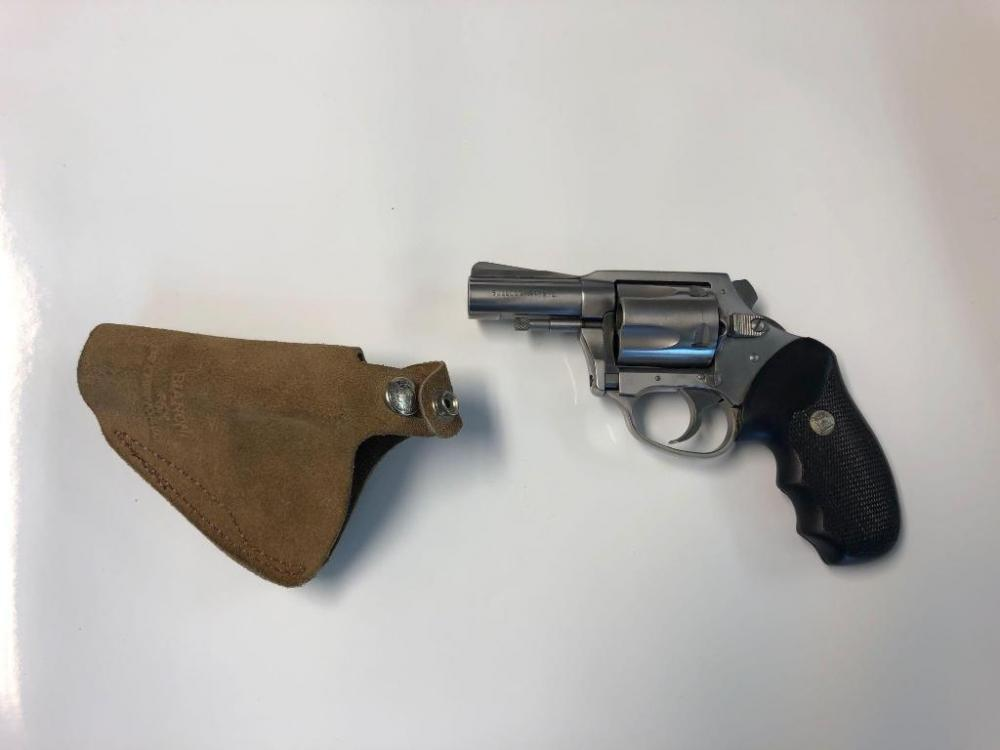 Charter Arms Bulldog  44 Special Revolver with Leather