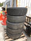 (5) 285/70R19.5 Tires
