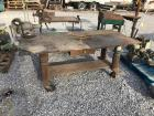 6ft Wide Rolling Work Table with Table Vise