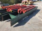 15ft Tall Pallet Racking - (5) Uprights, side panels