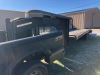 Trailer World Gooseneck Tandem Axle Equipment Trailer with Dovetail and Ramps
