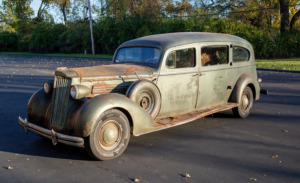 1937 Packard One Twenty Hearse - Incredible Barn Find!
