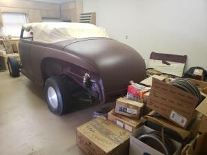 1941 Ford 2 Door Cabriolet Street Rod project (real old school hot rod)