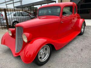 1934 Ford 5 window coupe - Street Rod