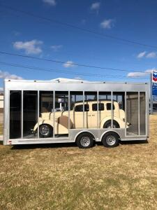 2015 Custom Aluminum Show Car trailer