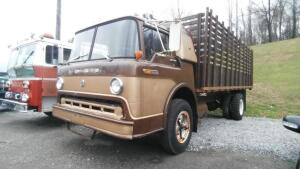 1969 Ford Cab Over C-752 Flatbed Dually