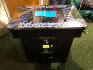 Multicade Tabletop Multi-Game Console - (60 Games) less than a year old