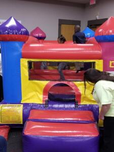 Mini-Jump Ball Pit Inflatable