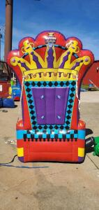 (2) Pump It Up Chair Inflatables