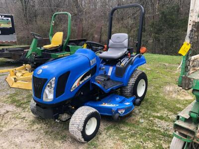New Holland TZ18DA Diesel Tractor with 54CMS Cutting Deck