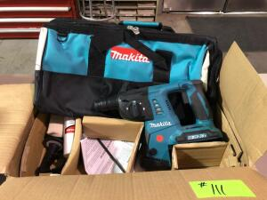 New Makita 36V XRH05 Cordless 1in Rotary Hammer - No battery, No Charger with Bag