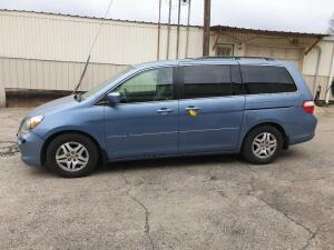 UPDATED INFORMATION 2006 Honda Odyssey Van