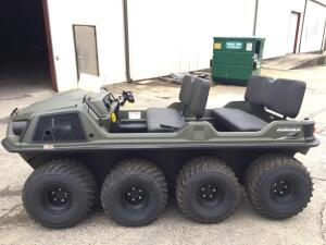 UPDATED 4 hours! Argo 2019 Amphibious Vehicle Model 8x8 Arurora ATV - Serial #2DG-SA--2KNA43148
