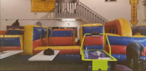 40ft 7-Element Obstacle Course Inflatable - 40x10x9