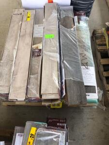 Pallet - Assorted Laminate Flooring and Vinyl Plank Flooring