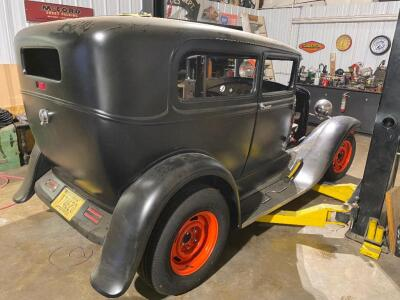1930 Ford Model A 2 door sedan - Almost completed project