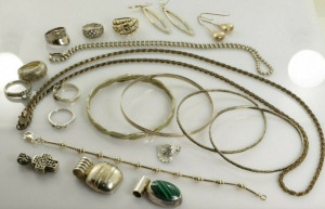 Lot of Gold & Diamond Jewelry