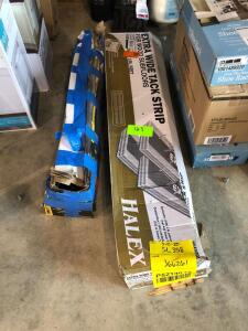 Lot - Tack Strip and Tile Cutter
