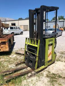 Clark Narrow Aisle Electric Forklift