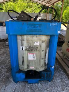 Ultratrainer Oil Tank with a Graco Husky 1010 Power Operated Pump