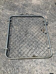 Chain Link Gate - 3ft Wide x 4ft Tall