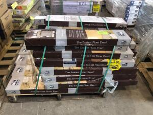 Pallet - Traffic Master Allure Plank Flooring - Khaki Oak