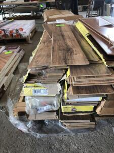 Lot - Traffic Master Laminate Flooring