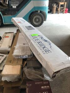 Lot - Assorted Vinyl, Laminate and Hardwood Flooring