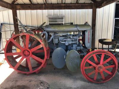 Fordson by Ford Motor Company Steel Wheel Tractor