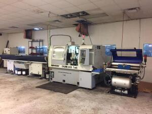 2007 Ganesh Cyclone 32 CS 7 Axis Screw Machine (CNC) with Patriot 338 Turner