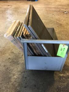 Roll cart with air filters