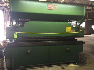 UPDATED INFORMATION Dreis & Krump Metal Press Brake 810-C 14 ga capacity