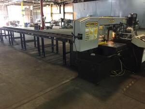 Hyd Mech Metal Cutting Band Saw S23P with conveyor