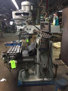 ACRA Turret Milling Machine Digital Readout