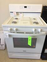 Whirlpool Gas Range with no LP Conversion Kit. White - Model WFG510SOHS