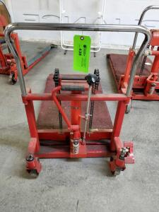foot operated lifting jack