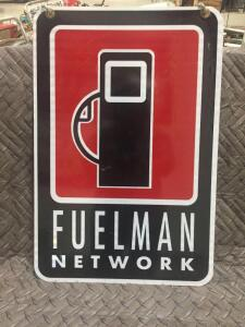 "Fuelman Network Sign 23"" x 16"""