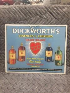 "Duckworths Sign 18"" x 14"""