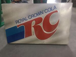 "RC Cola Sign 48"" x 32"""